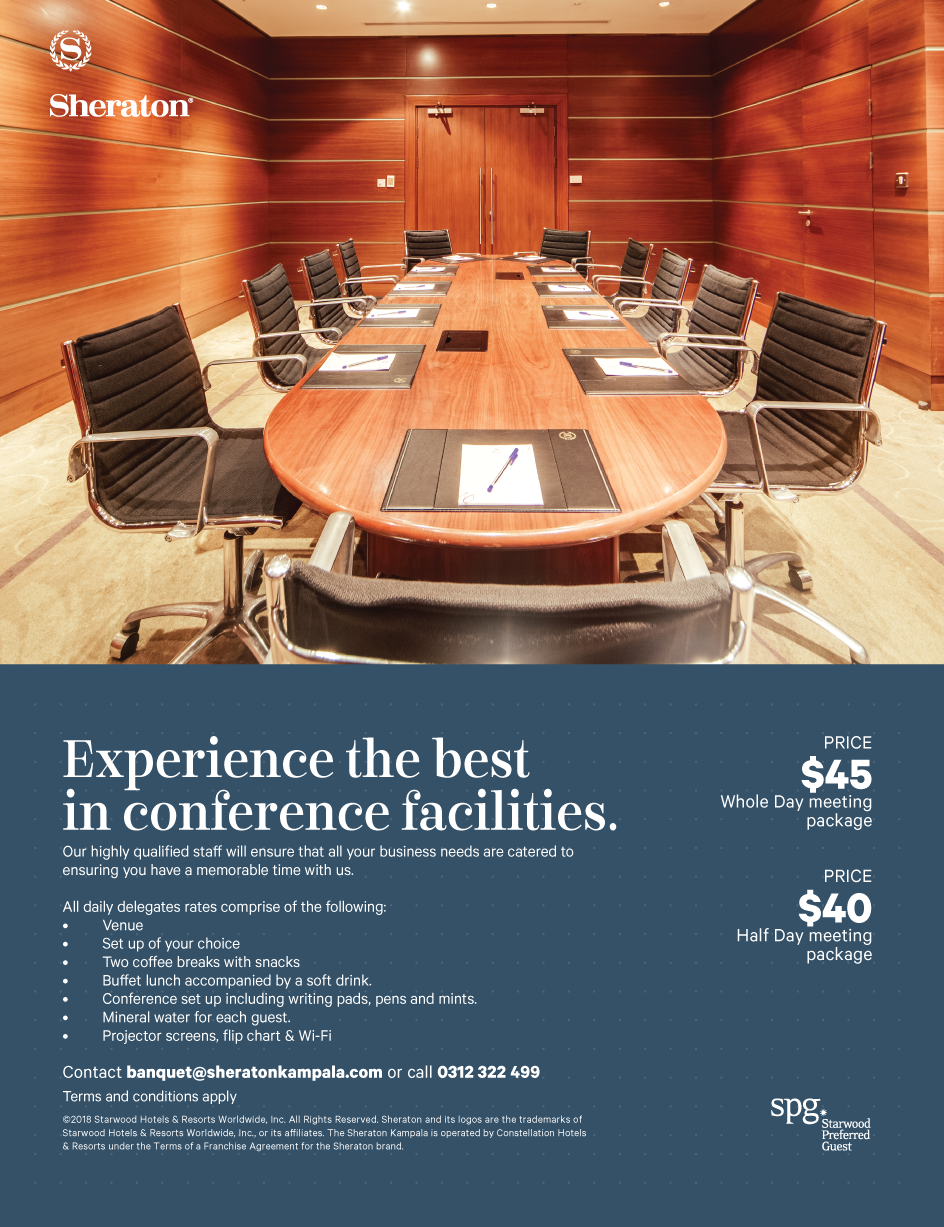 Sheraton Kampala Hotel Meetings and Conference Offer